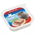 PreVital пастети за котка, различни вкусове, 100гр