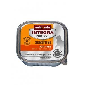 Лечебна храна за котка Animonda Integra Sensetive, 100гр (2.62 лв за брой в стек)