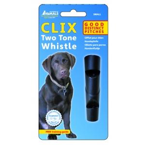 CLIX свирка два тона, подходяща за всички породи кучета