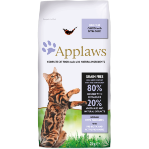 Храна за котка Applaws Cat Adult Duck&Chicken патица и пиле, 2 кг