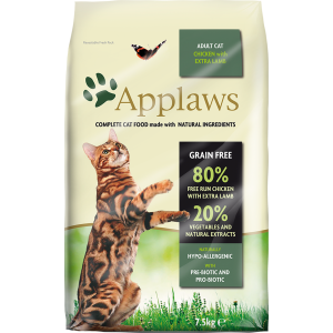 Храна за котка Applaws Cat Adult Lamb&Chicken агне и пиле, 2 кг