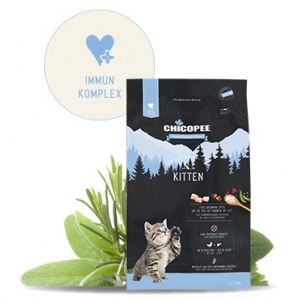 Храна за котки Chicopee Holistic Nature Line Kitten до 12 месеца, 8кг