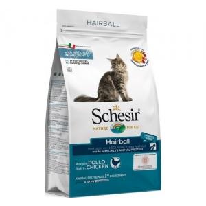 Храна за котка Schesir Hairball Chicken с пилешко