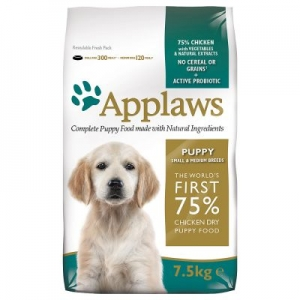 Храна за кучета Applaws Puppy Small & Medium Chicken с пиле за малки и средни породи до 12 месеца