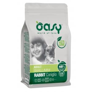 Храна за кучета Oasy Rabbit Monoprotein Adult Mini със заешко за малки породи над 12 месеца, 2.5 кг