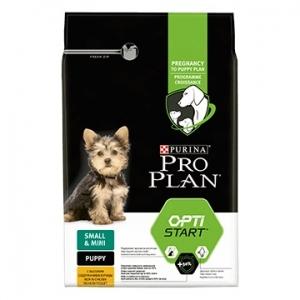 Храна за кучета Purina Pro Plan Small&Mini Puppy с пиле, 0.700кг