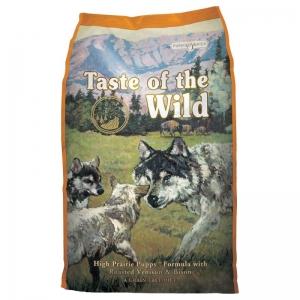 Храна за кучета Taste of the Wild High Prairie Puppy с бизон за всички породи до 12 месеца, 12.2 кг