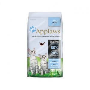 Храна за малки котета Applaws Kitten Chicken с пиле, 2 кг