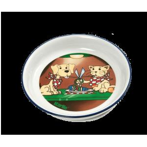 Керамични купи за кучета и котки, ръчно рисувана