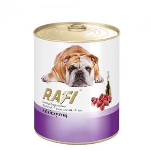 Консерва за кучета Rafi Adult с дивеч