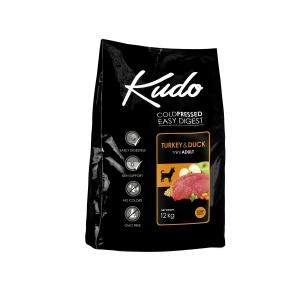 Kudo Low Grain Turkey/Duck Mini Adult - храна за кучета от дребни породи над 1 год