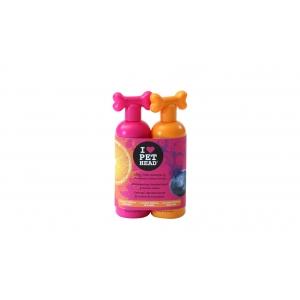 Pet Head Duo комплект шампоан Dirty Talk, 475 мл + крем лосион Fantastic, 475 мл