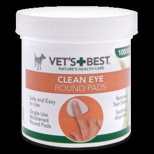 Почистващи тампони за очи за кучета Vet's Best, 100 бр