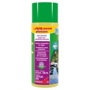 Sera Pond Phosvec - премахва фосфатите, причина за водорасли