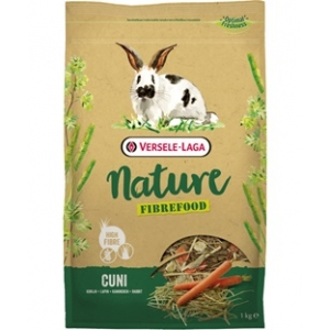 Versele Laga Cuni Nature Fibre Food  - Храна за капризни мини зайци, 1кг