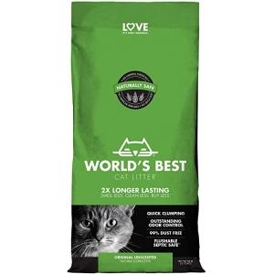 【World's Best Cat Litter】- постелка за котешка тоалетна, натурална